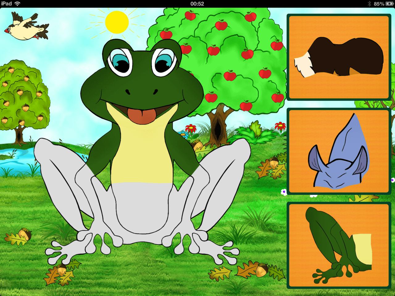 """игра для iPad  """"Joyful Animals for Kids"""""""