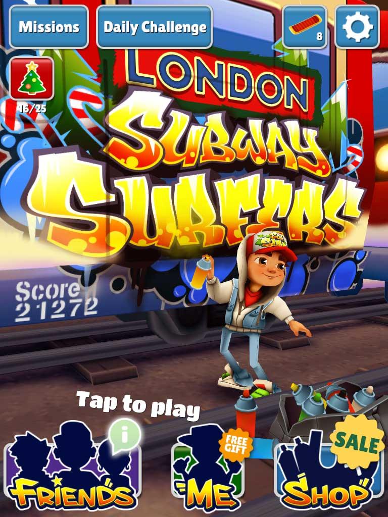 приложение игра скачать Subway-Surfers